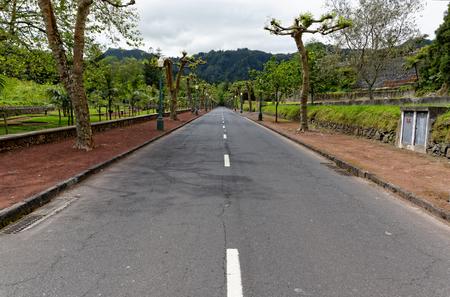 Road in Furnas photo