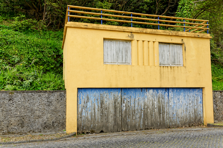 The old house on Azores photo