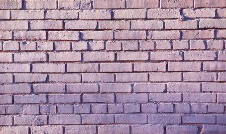 split level: Vintage brick wall as a background. Closeup view