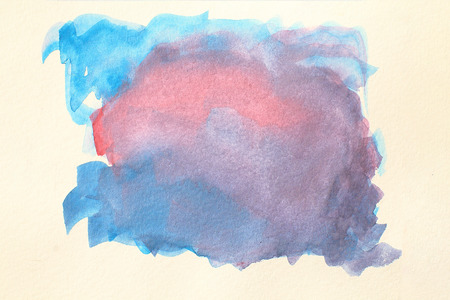 Abstract watercolor background painting