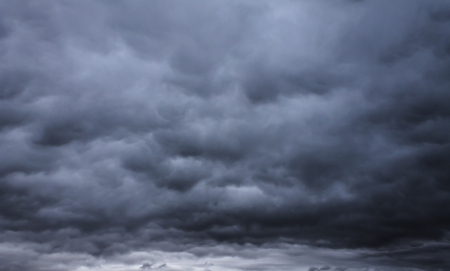 monsoon clouds: dark gloomy stormy sky and clouds