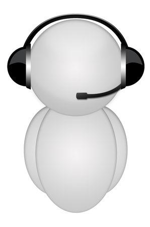 body headphone sign