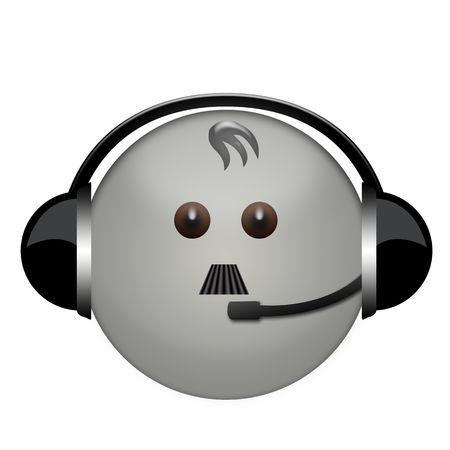 gitler in headphone sign