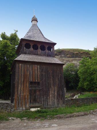 Kamjanez-Podilsky bewaldet Kirche Lizenzfreie Bilder