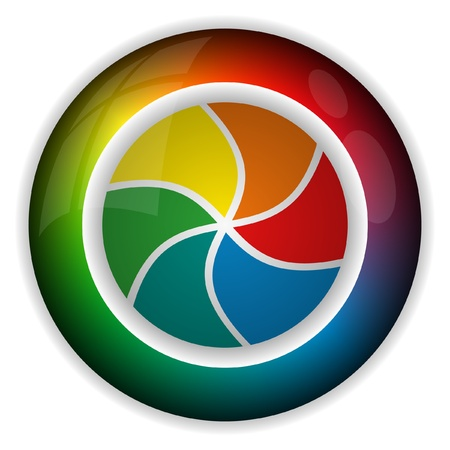 Farbrad Lizenzfreie Bilder