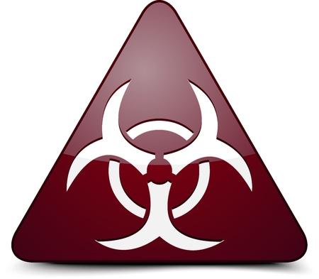 radioactive: Biohazard sign