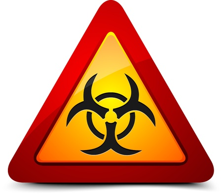 radioactive sign: Biohazard sign