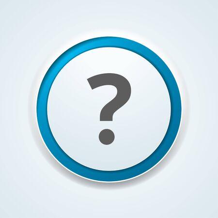 Help buton illustration sign