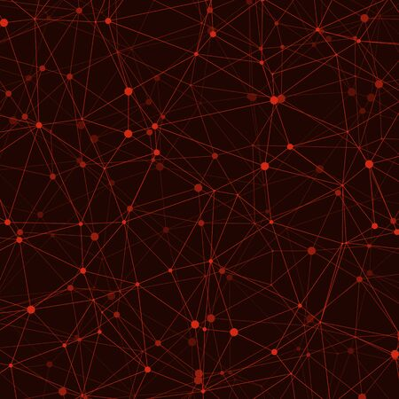 Abstract Low Polygon Mesh Computation Generative Art background illustration