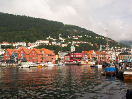 Norway. Bergen port Stock Photo - 543672