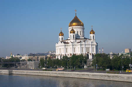 Moscow. Cathedral of Christ the Savior photo