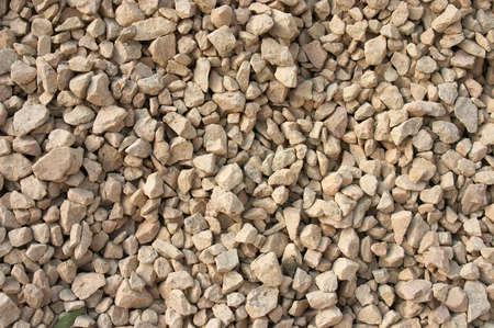 Yellow gravel background photo