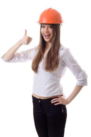 casco de la mujer