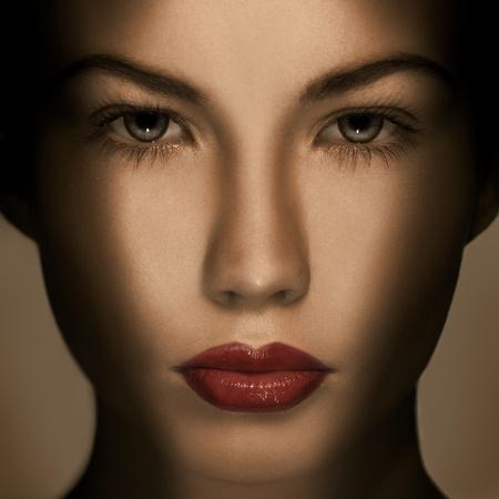 fantasy makeup: Beautiful Fashion Luxury Makeup