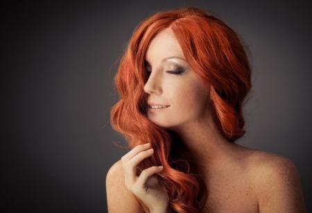Beauty Portrait. Curly Hair Stock Photo - 16732220