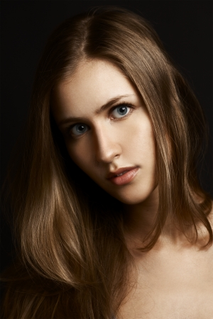 Beautiful Girl. Healthy Long Hair  Stock Photo - 17564187