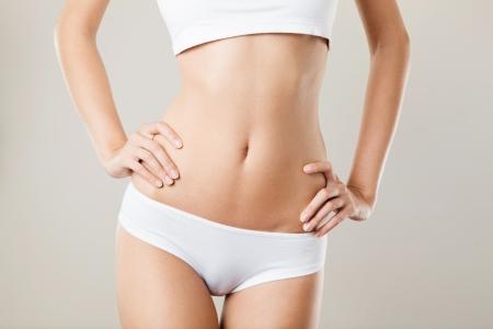 perfeito: Perfect Body Mulher Slim. Diet Concept