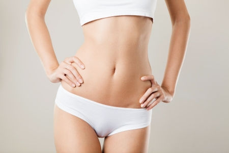Perfect Slim Donna Corpo. Concetto di dieta photo