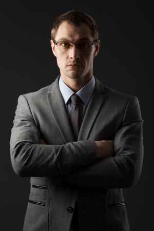 body guard: Businessman Portrait