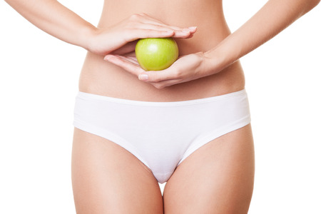 Perfect Slim Woman Body. Diet Concept photo