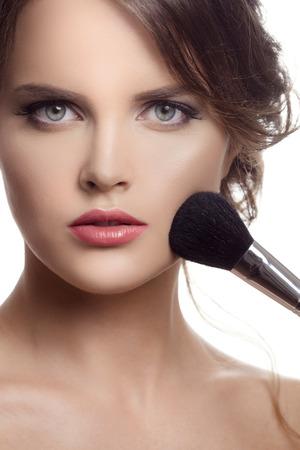 Makeup. Make-up Face photo