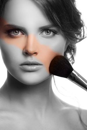 Makeup Face. Make-up Concept. photo