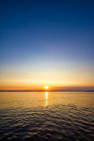 sunset: paisaje marino Sundown