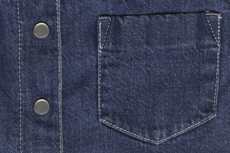 jeans jacket's details Stock Photo - 664867