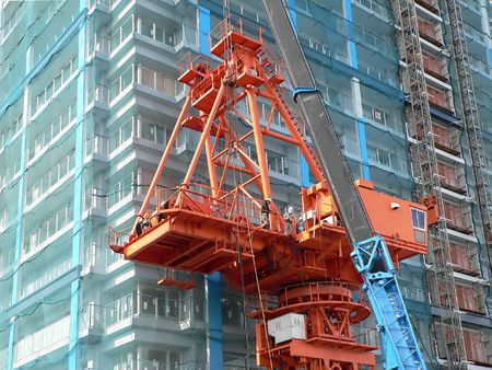 industrial construction crane Stock Photo - 881795