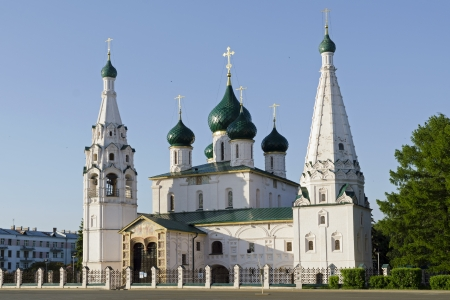 The Church of St. Ilya the Prophet in Yaroslavl, Russia; built in 17th century photo