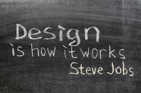 handwritten excerpt of famous Steve Jobs quote  -   Stock Photo