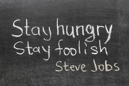 famous Steve Jobs quote -