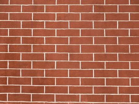 homogeneous: homogeneous red brick wall pattern