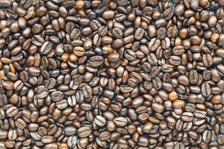 highly: highly detailed whole roasted coffee beans background