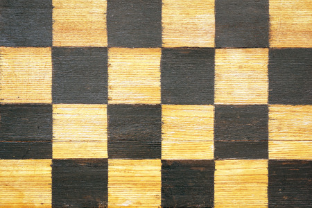 weathered: authentic vintage weathered chessboard fragment