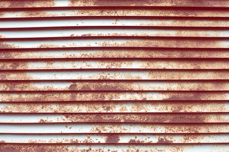 louver: rusty metallic louver background Stock Photo