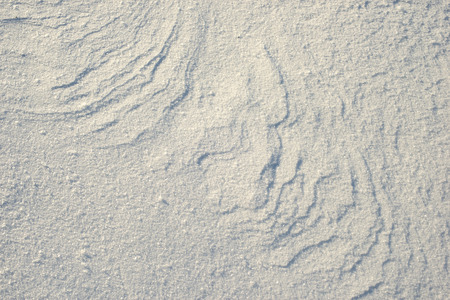 windy: pure white snow background with windy waves pattern