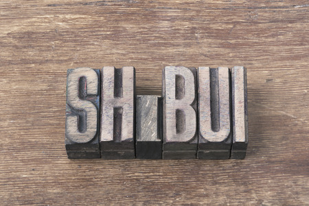 unobtrusive: shibui Japanese word, adjective with meaning of simple, subtle, and unobtrusive beauty