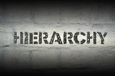 Jerarquía, plantilla, impresión, grunge, blanco, ladrillo, pared Foto de archivo - 79259049