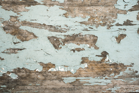 detailed texture of ancient wooden board with paint remains Фото со стока
