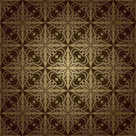 Wallpaper pattern dark Stock Vector - 11298564