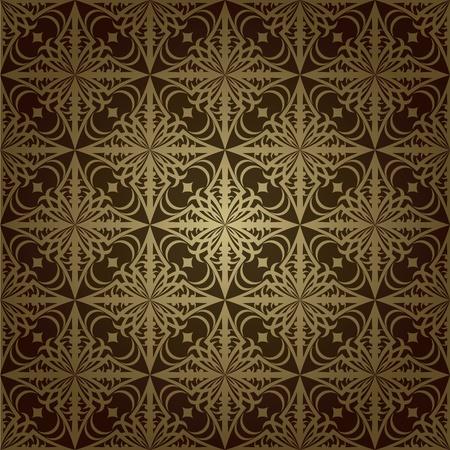Wallpaper pattern dark Stock Vector - 11298564