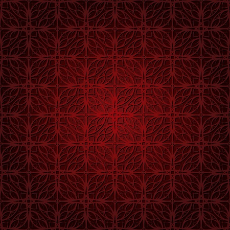 Seamless wallpaper pattern dark red Vector