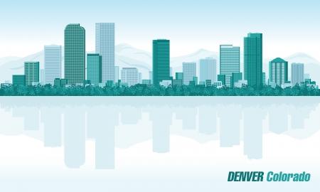 Денвер: Денвер штат Колорадо подробно горизонты