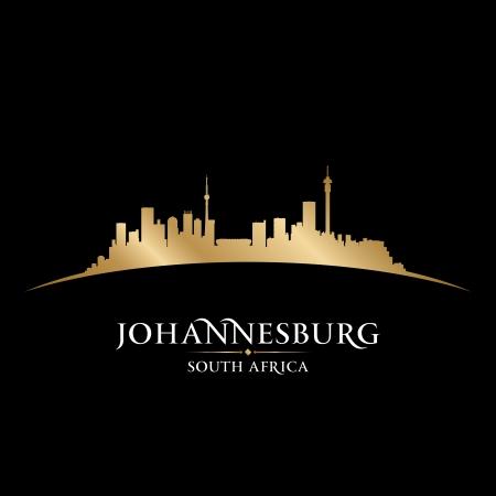Johannesburg South Africa city skyline silhouette. Vector illustration Stock Vector - 22598664