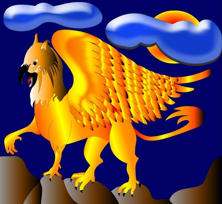 griffon: The Gold(en) griffon, winged monster with lion
