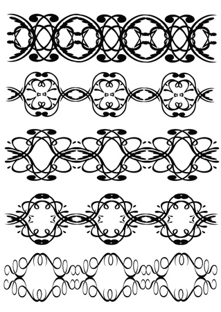 dividing:  illustration kit pattern is insulated on white background