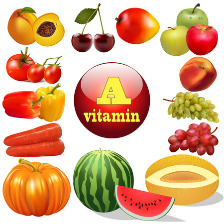 cherry tomato: illustration vitamin a herbal products The origin of the Illustration
