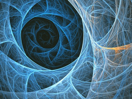 color design: illustration background fractal abstraction with sea  space