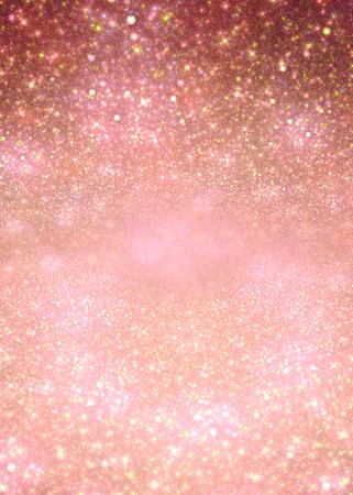 sequin: illustration of a fractal background with pink sequins